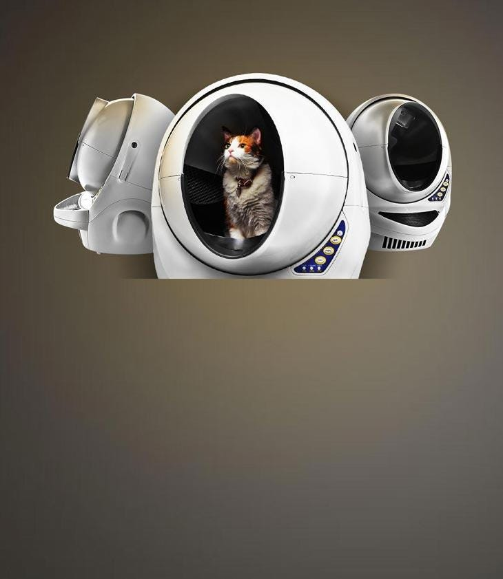 Mob - Litter Robot -  Free Shipping  90-Day Money  Back Guarantee Limited Time Only