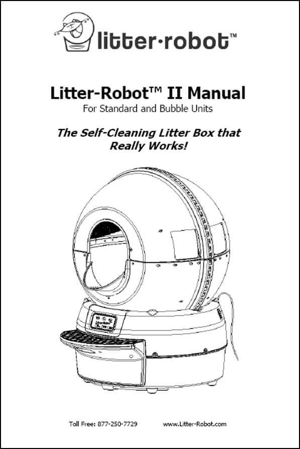 Litter-Robot II Manual
