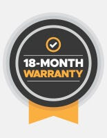 18 Month Warranty Seal
